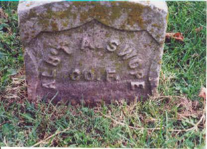 Albert Asbury Swope war recognition