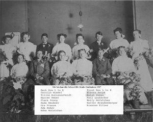 McCutchanville Grads 1907