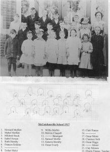 McCutchanville School 1917