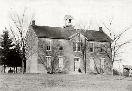 Old McCutchanville School 1874 - 1913