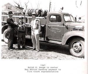 1947 McCutchanville Volunteer Firetruck
