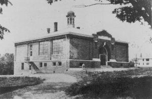 McCutchanville School About 1914