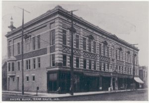 Swope Block 1902 Terre Haute, Indiana