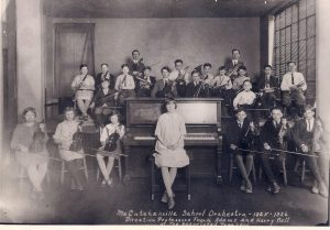 McCutchanville School-orchestra-1925-1926